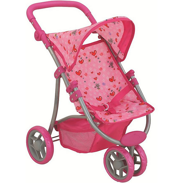 Buggy Boom | Коляска для кукол Buggy Boom Nadin, светло-розовая | Clouty