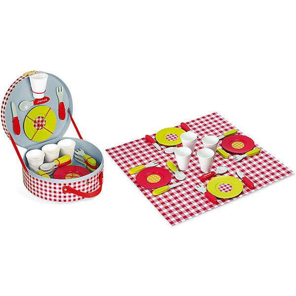 "Janod | Набор посуды Janod ""Пикник"", 21 предмет | Clouty"