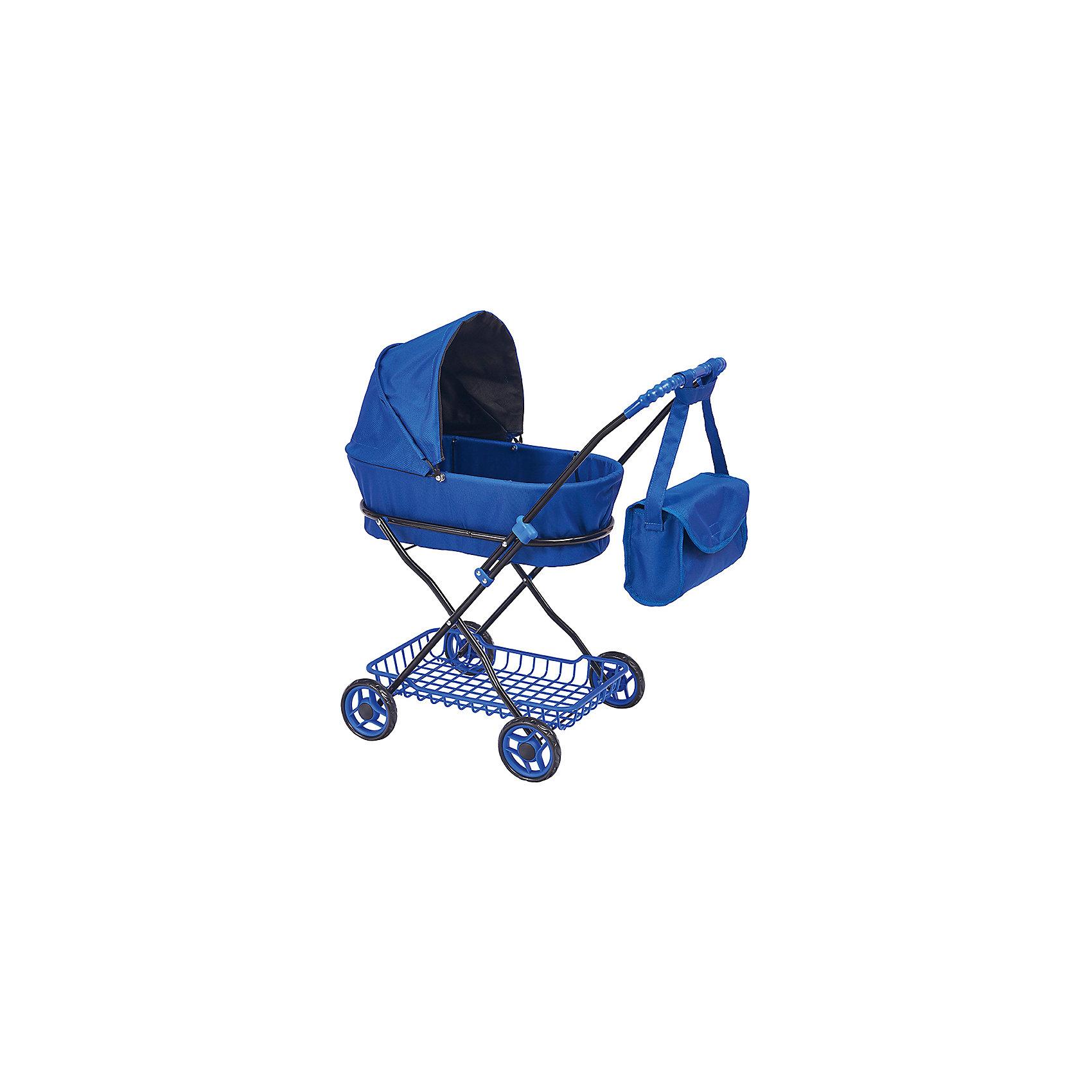 Buggy Boom | Коляска для кукол Buggy Boom Mixy, темно-синяя | Clouty