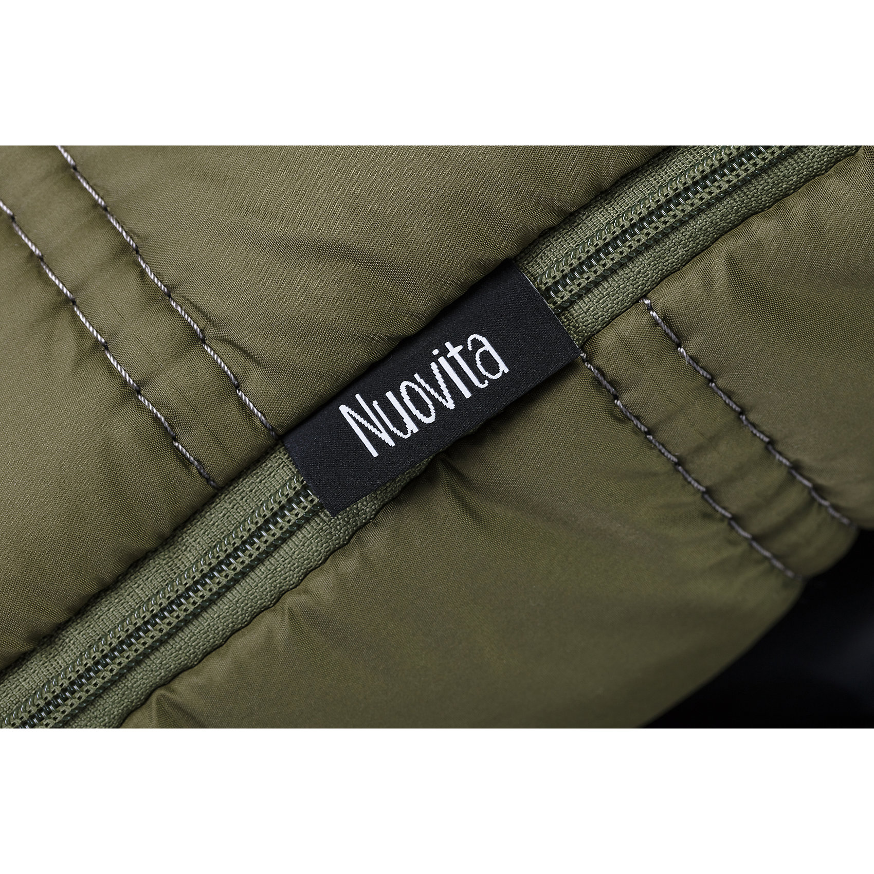 Nuovita | Меховой конверт Alpino Bianco | Clouty