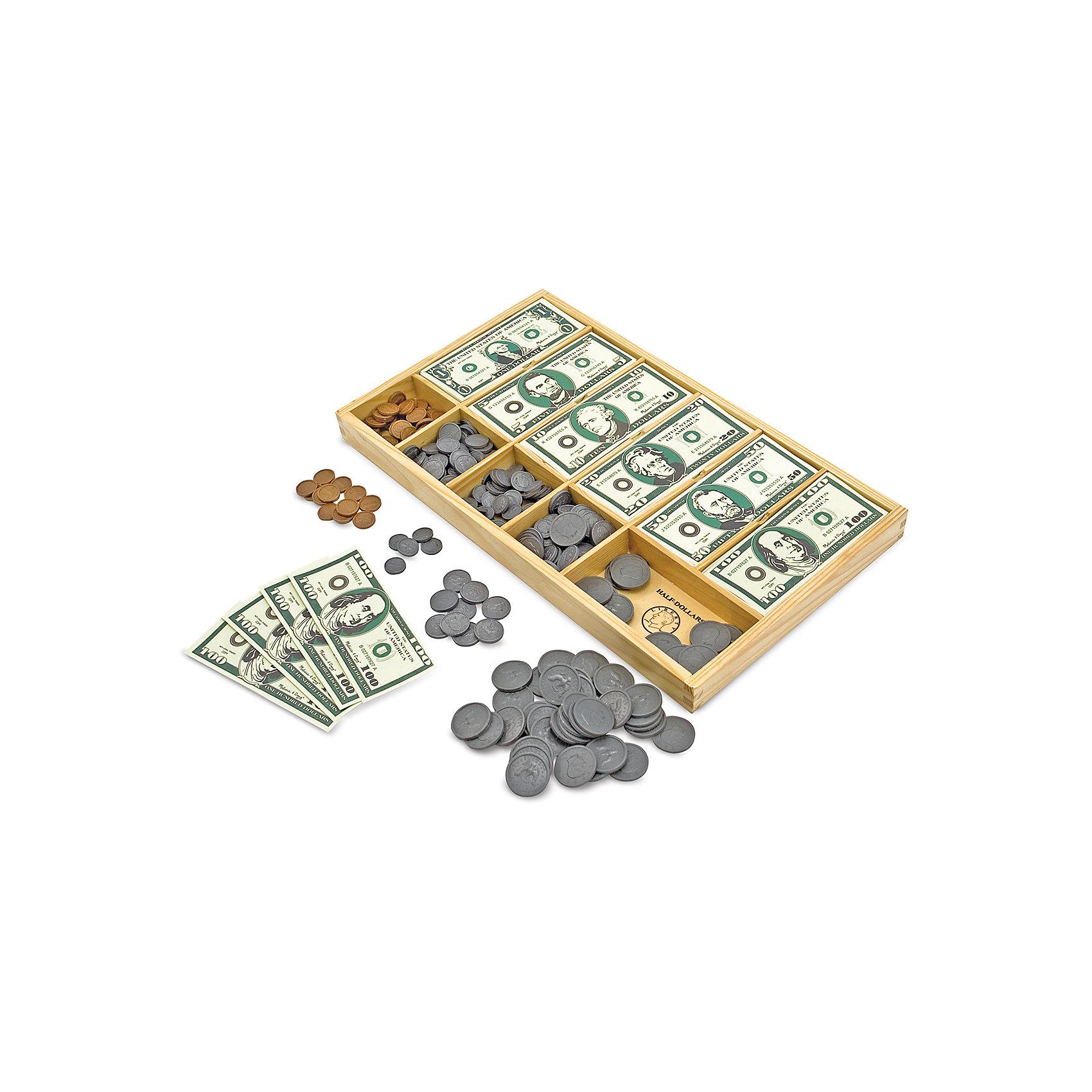 Melissa & Doug | Набор монет и купюр Melissa & Doug | Clouty