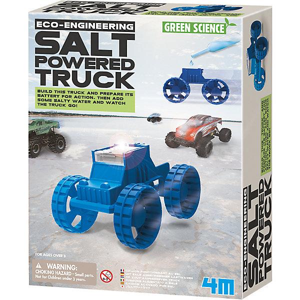 4M | Набор для робототехники Green Science Солевой вездеход | Clouty