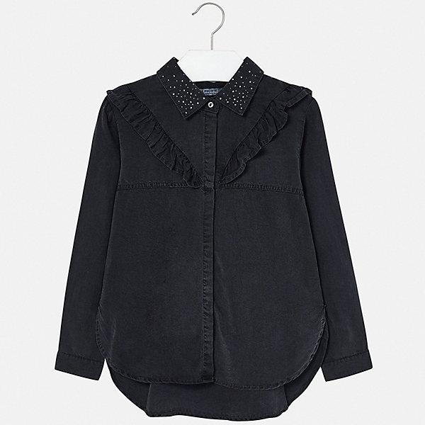 Mayoral   Джинсовая рубашка Mayoral   Clouty