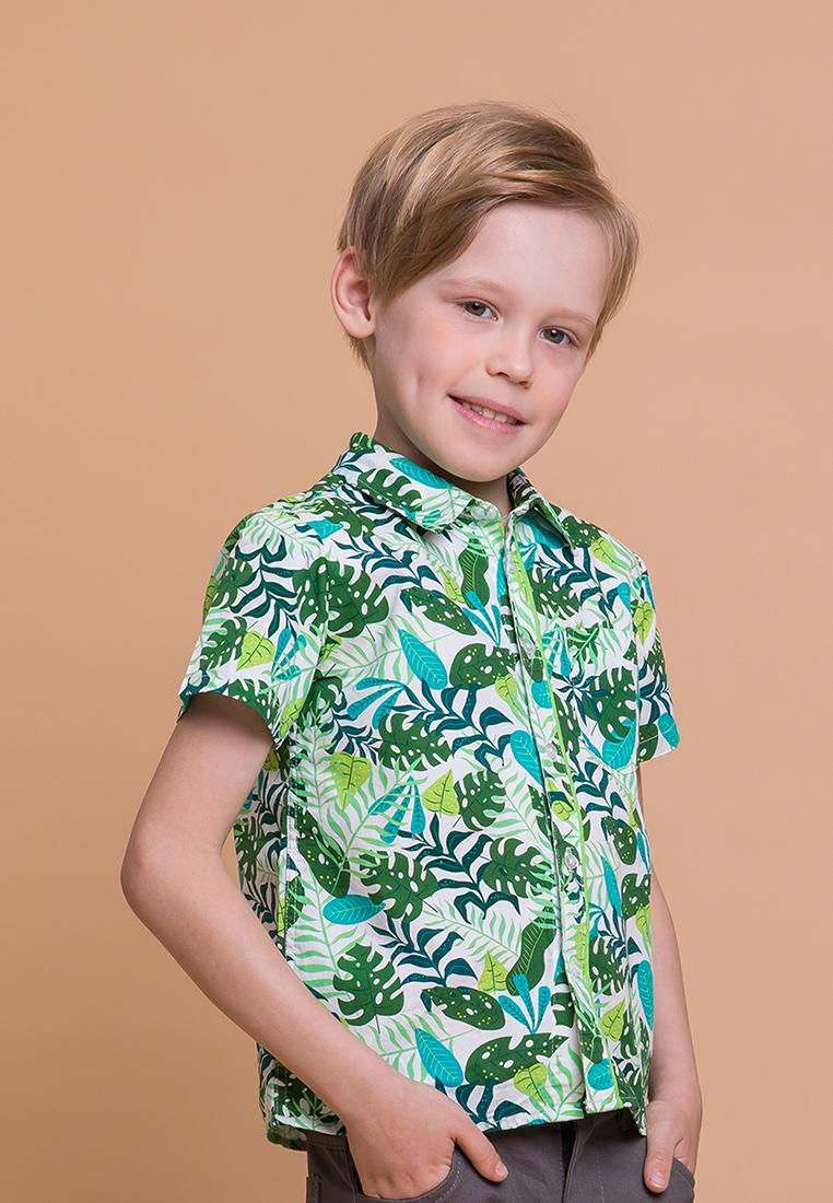 Max&Jessi   Рубашка детская для мальчиков Max&Jessi   Clouty