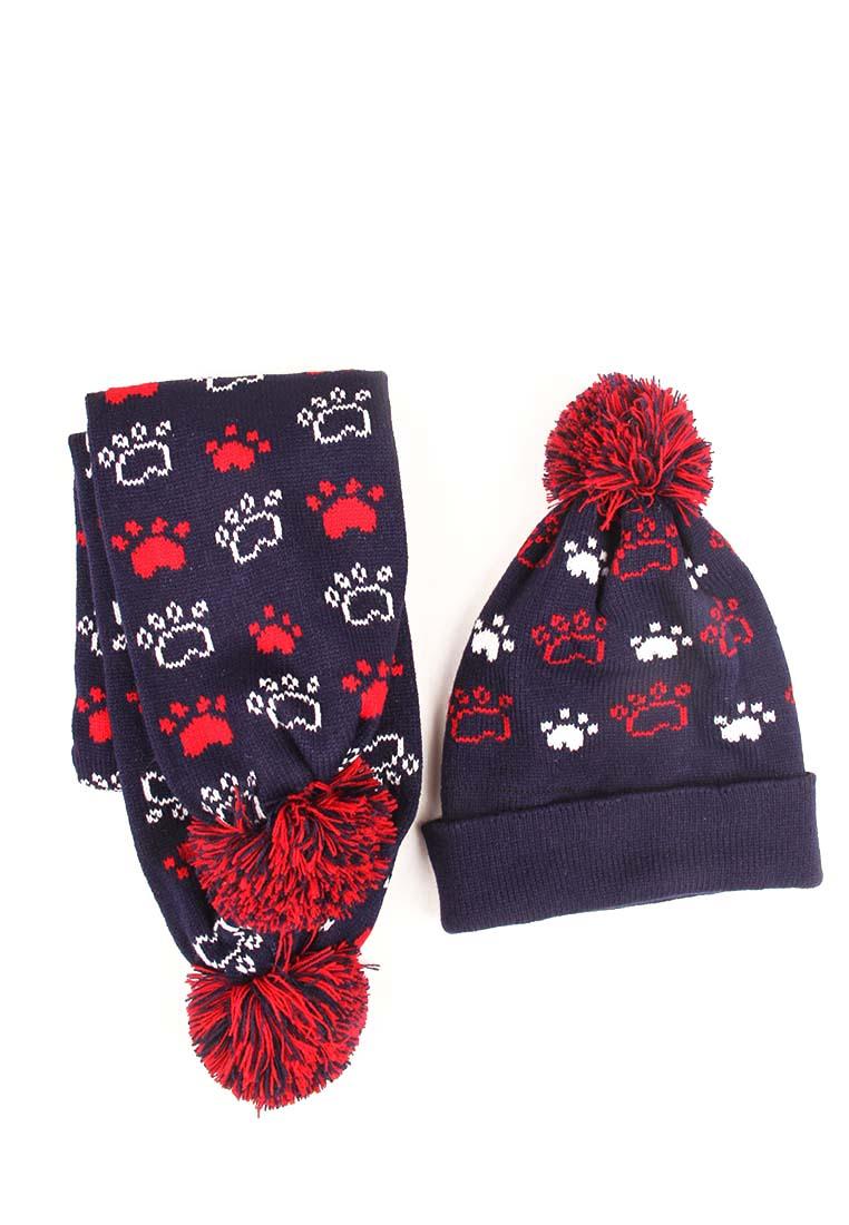 Kari | Набор шапка и шарф детский для мальчиков kari | Clouty