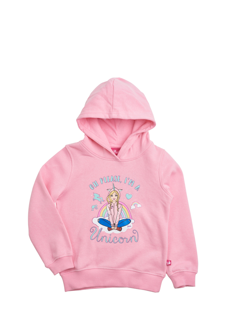 Barbie | Толстовка детская для девочек Barbie | Clouty