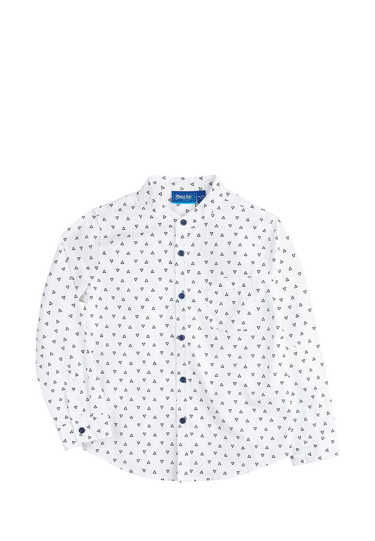 Max&Jessi | Рубашка длинный рукав детская для мальчиков Max&Jessi | Clouty
