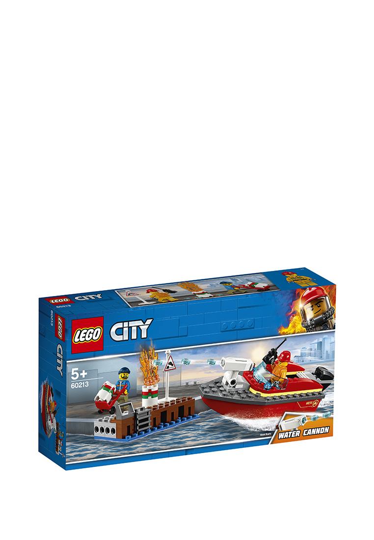 Lego | Lego city 60213 пожар в порту | Clouty