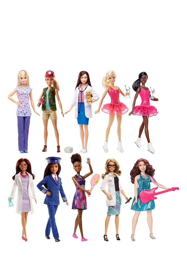Barbie | Куклы barbie из серии «кем быть?» dvf50 Barbie | Clouty