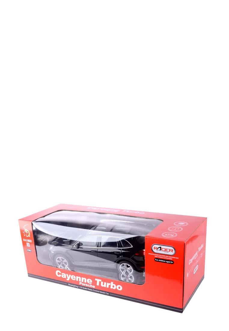 PORSCHE | Машина porsche cayenne turbo на р/у чёрная 1:16 981b PORSCHE | Clouty