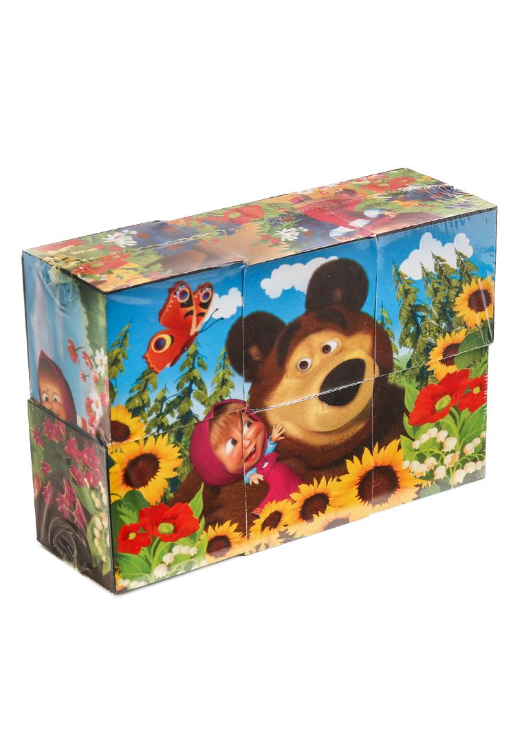 играем вместе   Набор играем вместе из 6 кубиков маша и медведь Играем   Clouty