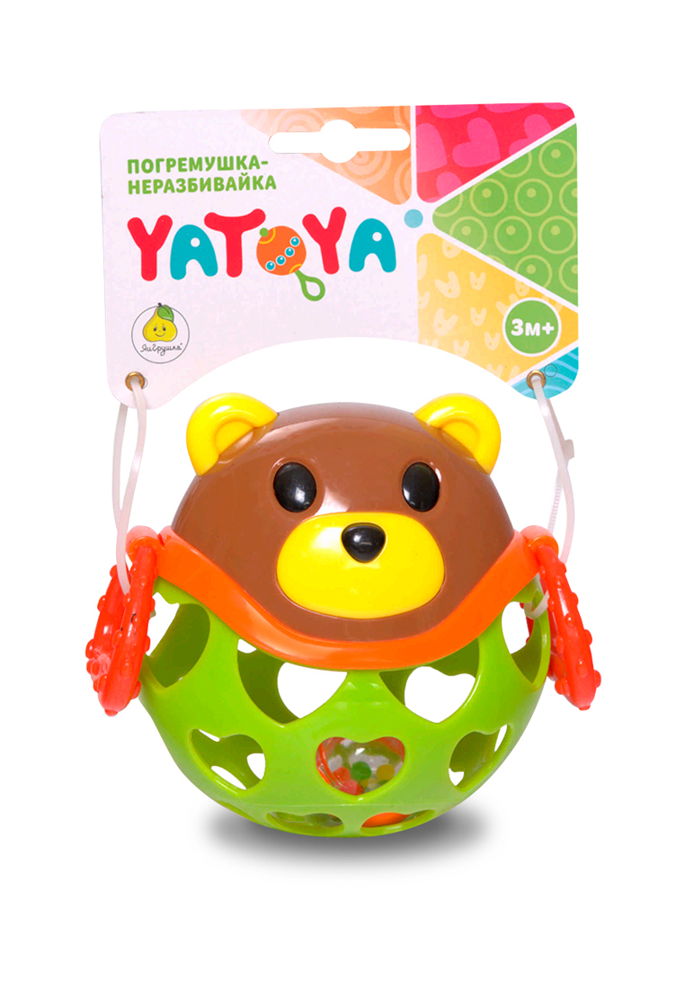 YATOYA | Игрушка-неразбивайка медведь YATOYA | Clouty