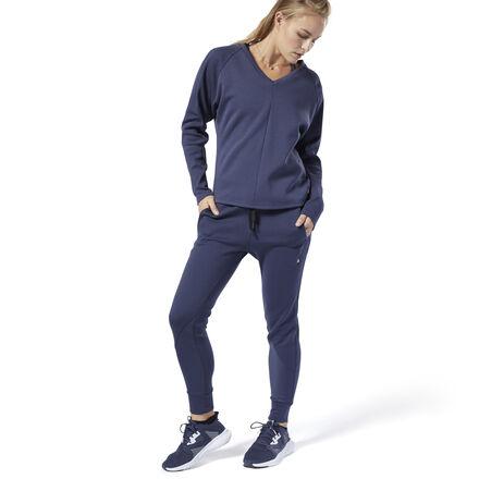 REEBOK | Спортивные брюки Training Supply Knit Reebok | Clouty