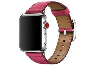 Фото Apple Ремешок Watch 38мм, с классической пряжкой, «розовая фуксия»
