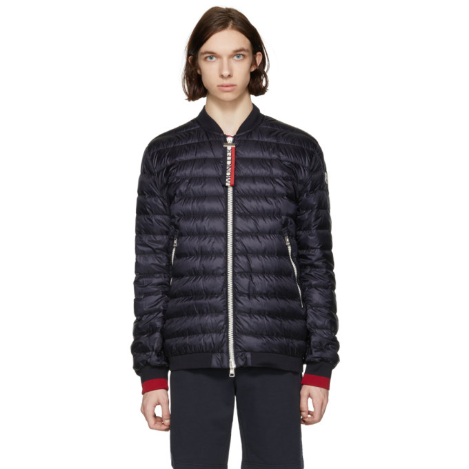 MONCLER | Moncler Navy Down Dane Jacket | Clouty