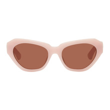 Dries Van Noten Pink Linda Farrow Edition 166 C6 Sunglasses
