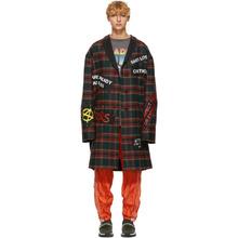 R13 Multicolor Punk Coat