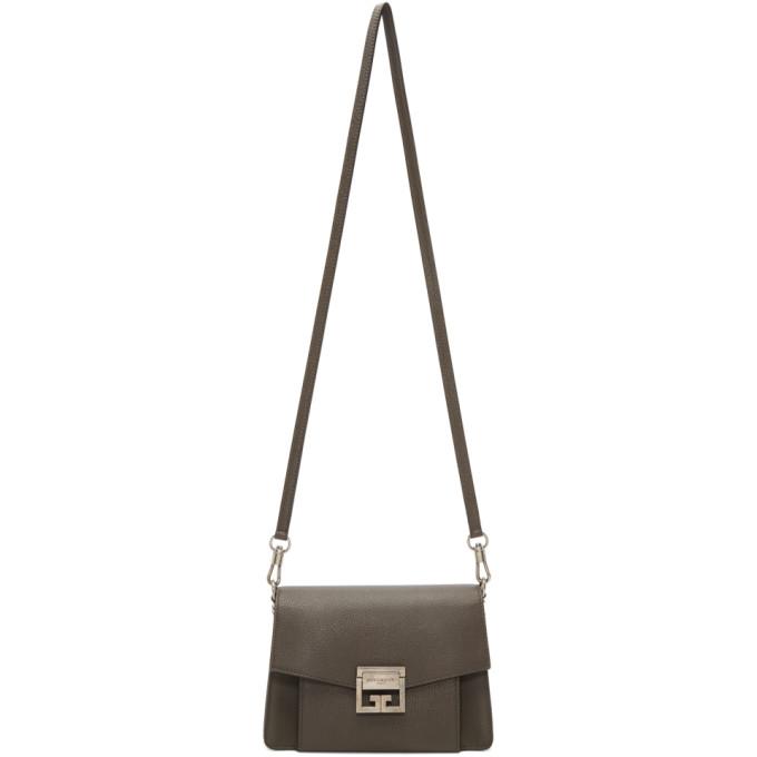 GIVENCHY | Givenchy Grey Small GV3 Bag | Clouty