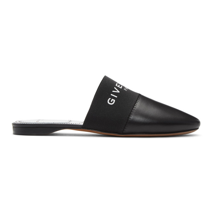 GIVENCHY | Givenchy Black Bedford Mules | Clouty