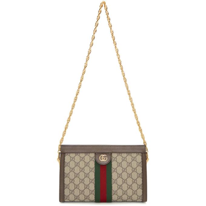 GUCCI | Gucci Beige GG Supreme Ophidia Bag | Clouty