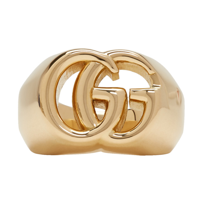 GUCCI | Gucci Gold GG Running Ring | Clouty