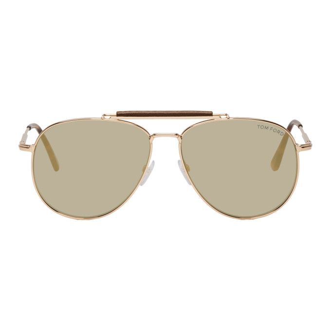Tom Ford | Tom Ford Rose Gold Sean Sunglasses | Clouty