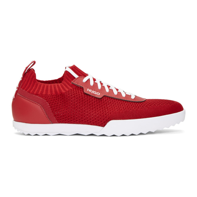 HUGO | Hugo Red Matrix Sneakers | Clouty