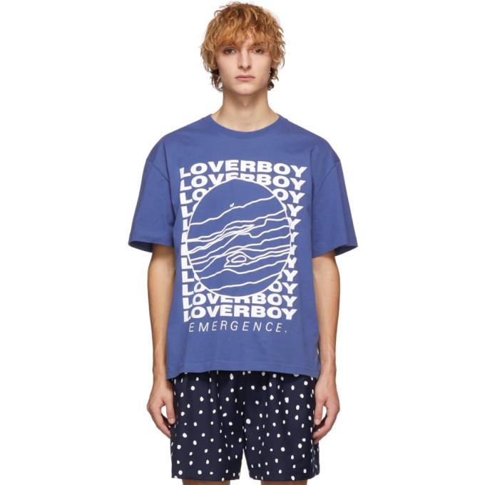 Charles Jeffrey Loverboy | Charles Jeffrey Loverboy Blue Cult Of Jupiter T-Shirt | Clouty