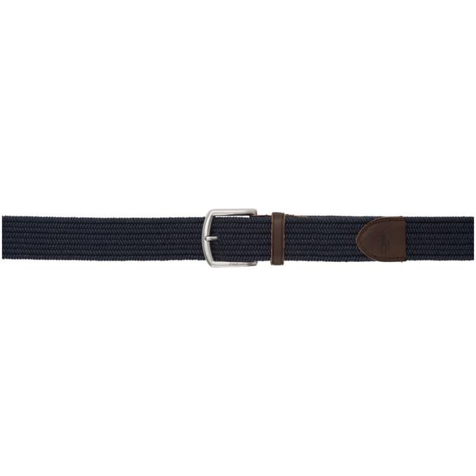 POLO RALPH LAUREN | Polo Ralph Lauren Navy Braided Belt | Clouty