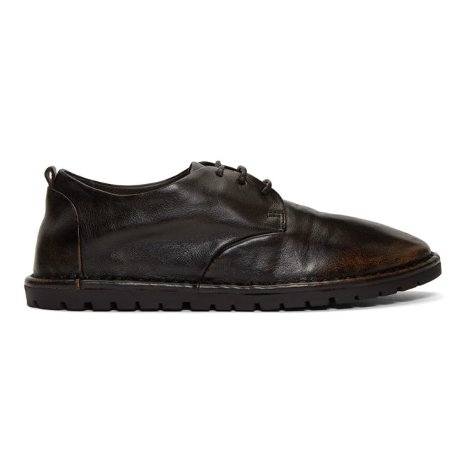 Marsèll | Marsell Black Gomma Sancrispa Derbys | Clouty