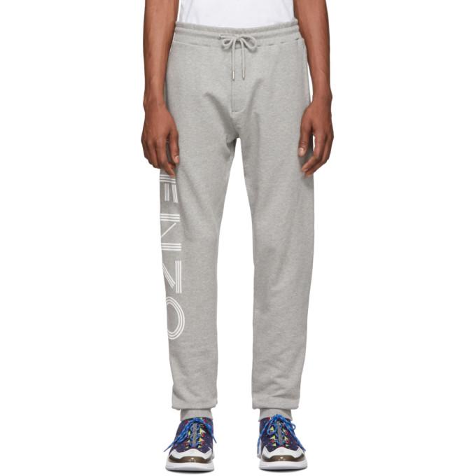 KENZO | Kenzo Grey Logo Lounge Pants | Clouty
