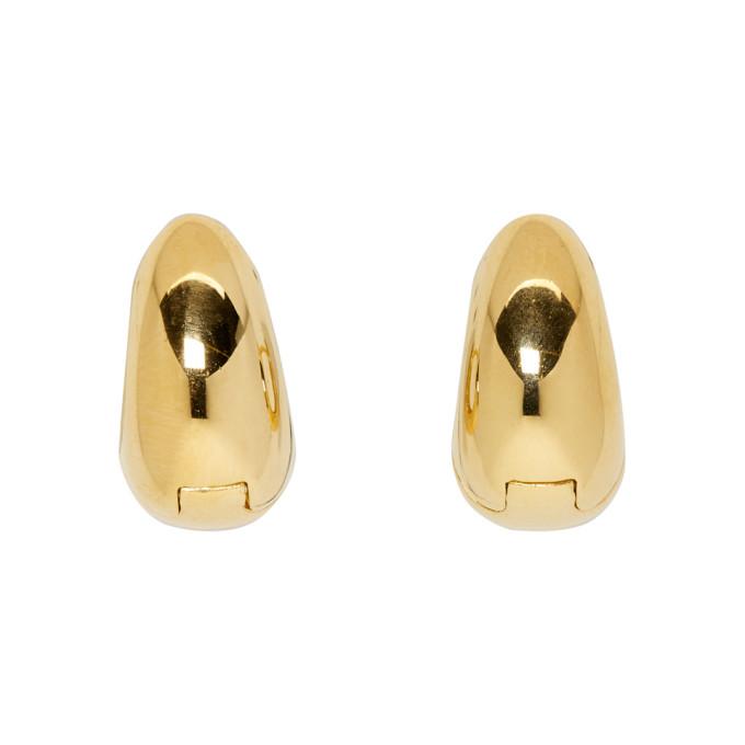 Sophie Buhai | Sophie Buhai Gold Hinged Hoop Earrings | Clouty