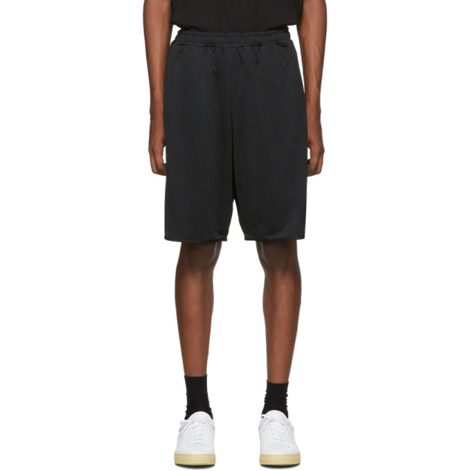 McQ Alexander Mcqueen | McQ Alexander McQueen Black Sports Shorts | Clouty