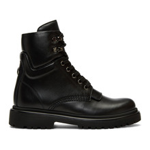 Фото Moncler Black Patty Ankle Boots