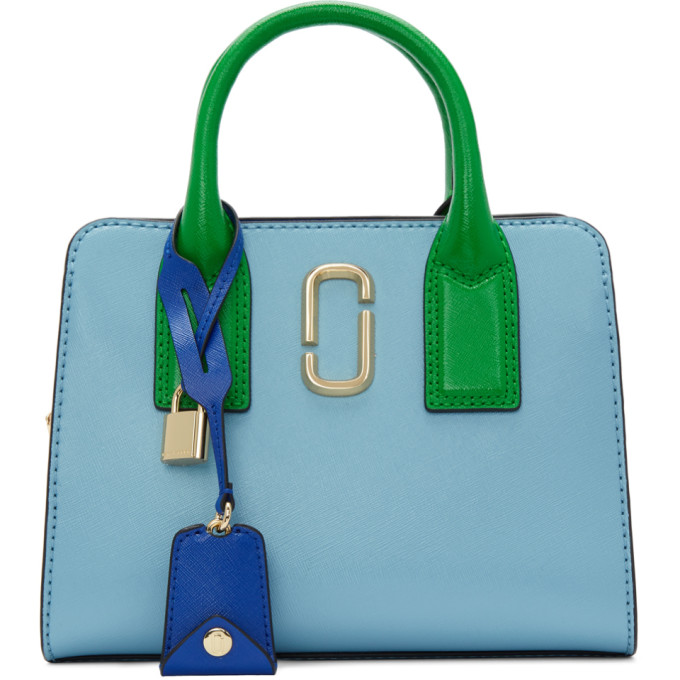 Marc Jacobs | Marc Jacobs Blue Little Big Shot Bag | Clouty
