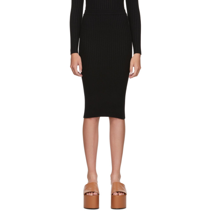 giu giu | giu giu Black Nonna Tube Skirt | Clouty