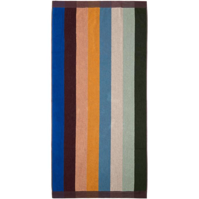 Paul Smith   Paul Smith Multicolor Artist Stripe Beach Towel   Clouty