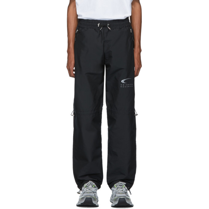 Axel Arigato | Axel Arigato Black Atlas Track Pants | Clouty