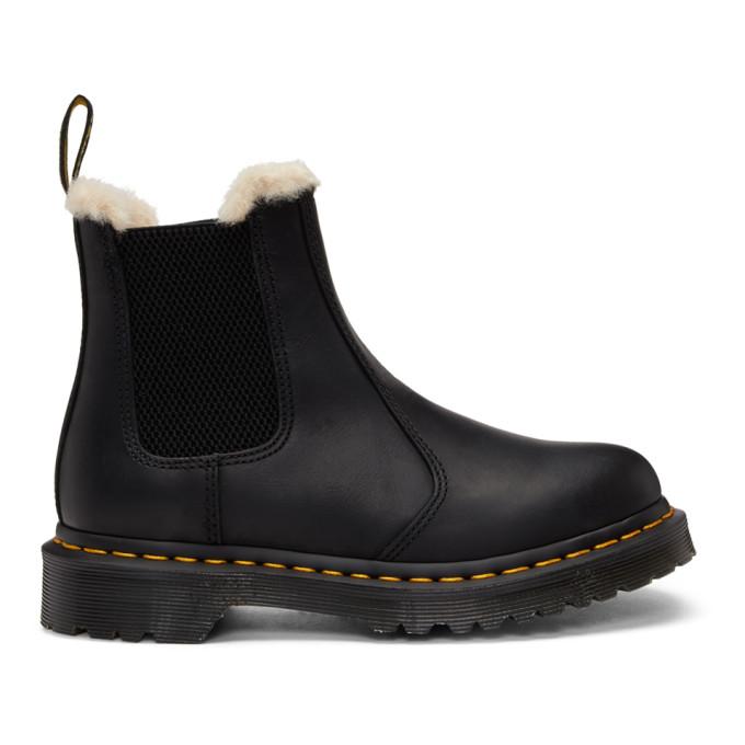 Dr. Martens | Dr. Martens Black Leonore Boots | Clouty