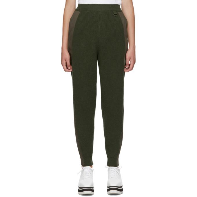 Stella McCartney | Stella McCartney Khaki Knit Military Lounge Pants | Clouty