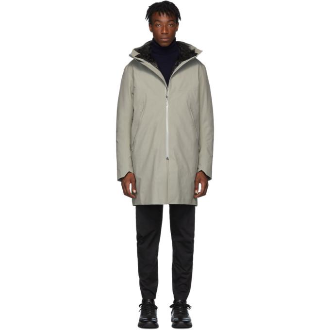 Veilance | Veilance Grey Down Monitor Coat | Clouty