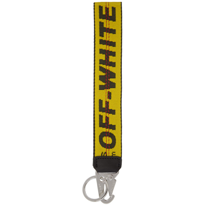 Off-White | Off-White Yellow Industrial Keychain | Clouty