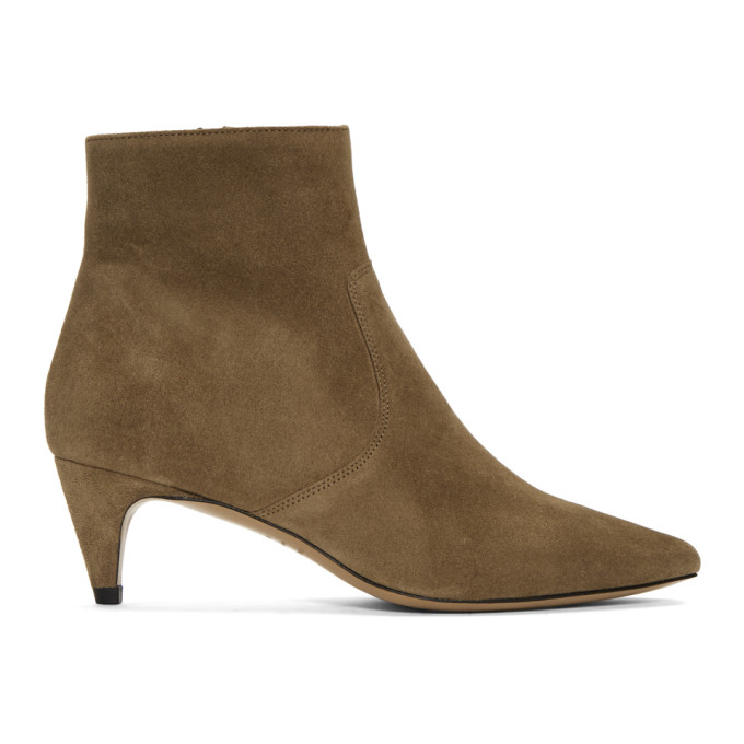 Isabel Marant | Isabel Marant Taupe Suede Derst Boots | Clouty