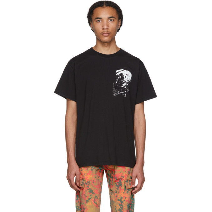 Resort Corps | Resort Corps Black Anime Torpedo T-Shirt | Clouty