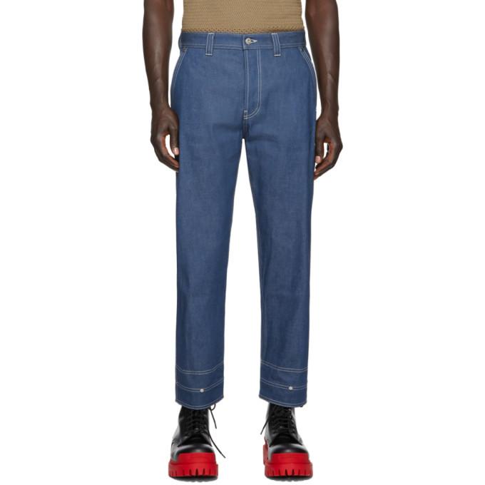 VALENTINO | Valentino Blue Cargo Jeans | Clouty