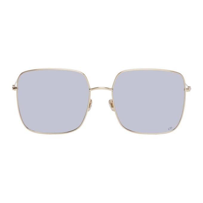 Dior | Dior Gold and Silver DIORSTELLAIRE1 Sunglasses | Clouty