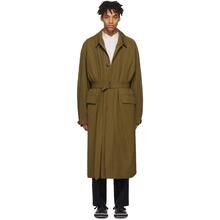 Фото Lemaire Tan The Great Raincoat Coat