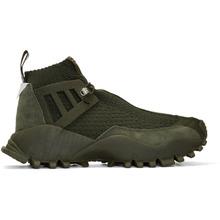 Фото adidas x White Mountaineering Green SeeULater Alledo PK High-Top Sneakers