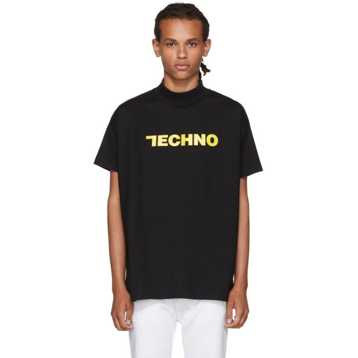 Alyx SSENSE Exclusive Black Techno T-Shirt