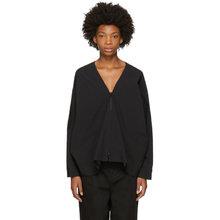 Фото Y-3 Black 2-Layer Hooded Jacket